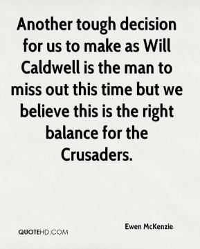 Another tough decision for us to make as Will Caldwell is the man to miss out this time but we believe this is the right balance for the Crusaders.