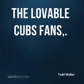 The lovable Cubs fans.