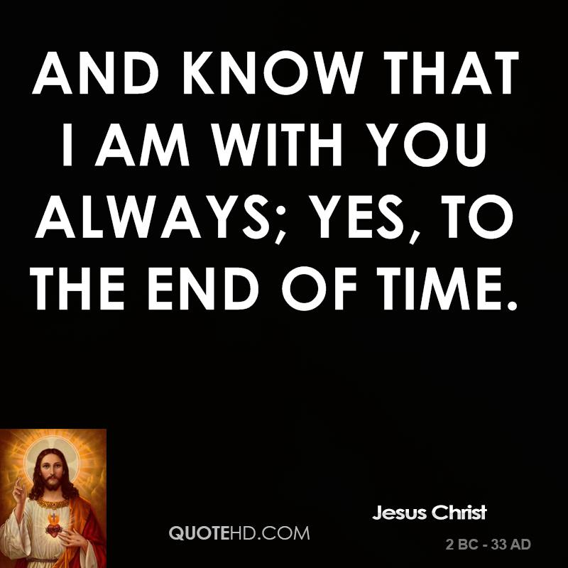 Jesus Christ Time Quotes