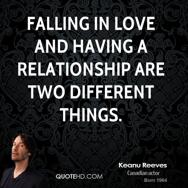 Quotes About Falling In Love Simple Keanu Reeves Love Quotes QuoteHD