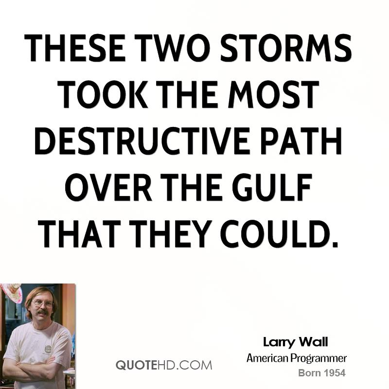 These two storms took the most destructive path over the Gulf that they could.