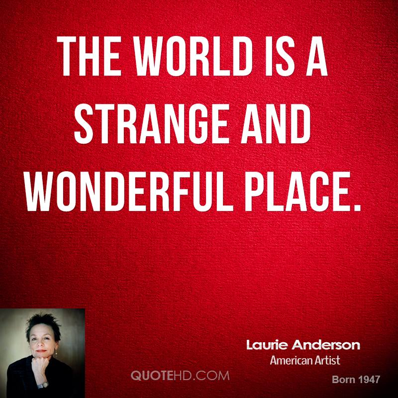 Laurie Anderson Quotes Quotehd
