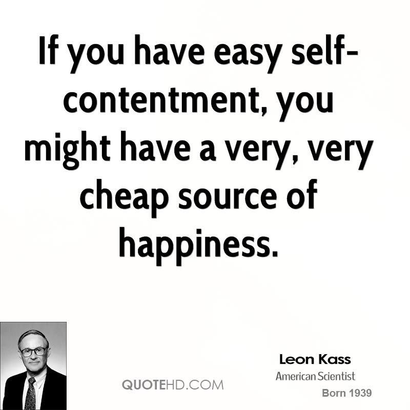 Self Contentment Quotes