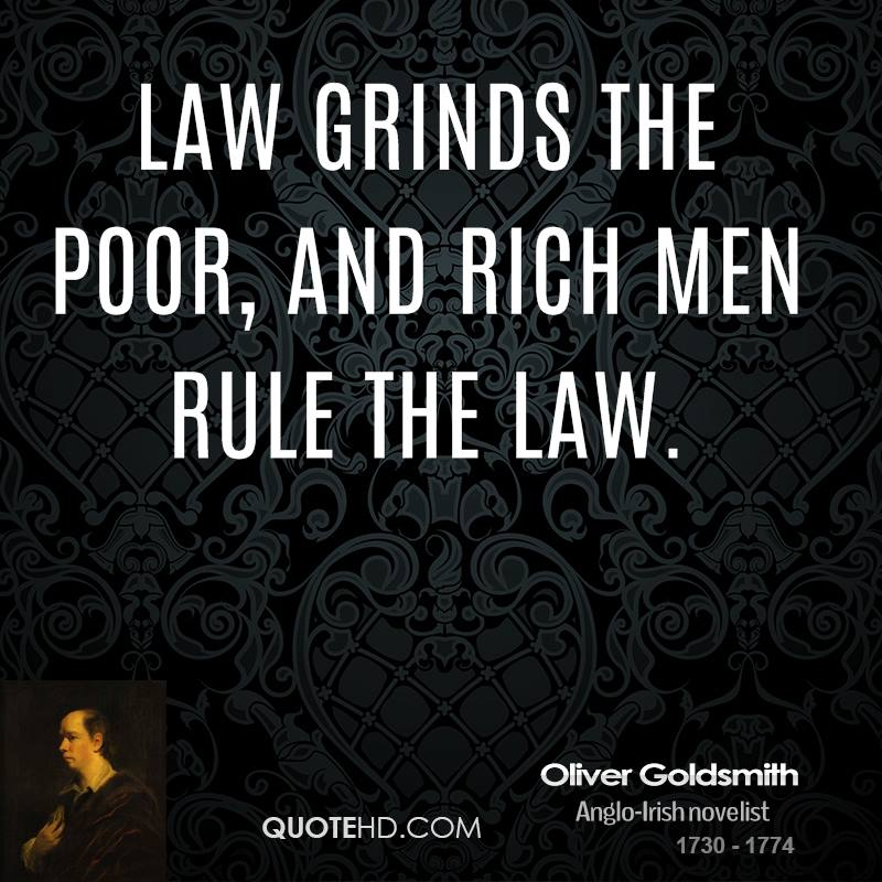 Quotes About The Rich And Poor: Oliver Goldsmith Quotes