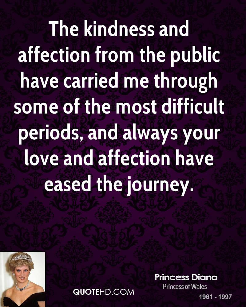 Quotes About Affection Princess Diana Quotes  Quotehd