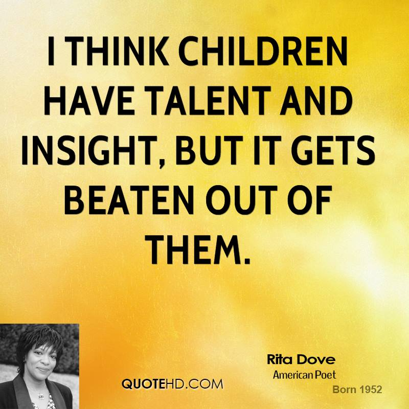 this life by rita dove Rita dove's wiki: rita frances dove (born august 28, 1952) is an american poet and essayist from 1993 to 1995, she served as poet laureate consultant in poetry to the library of congress.