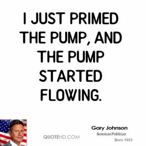 I just primed the pump, and the pump started flowing.