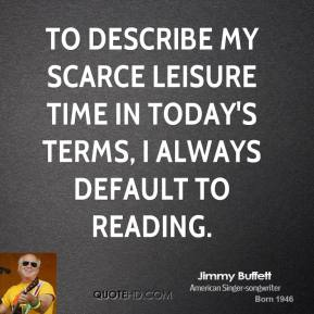 To describe my scarce leisure time in today's terms, I always default to reading.