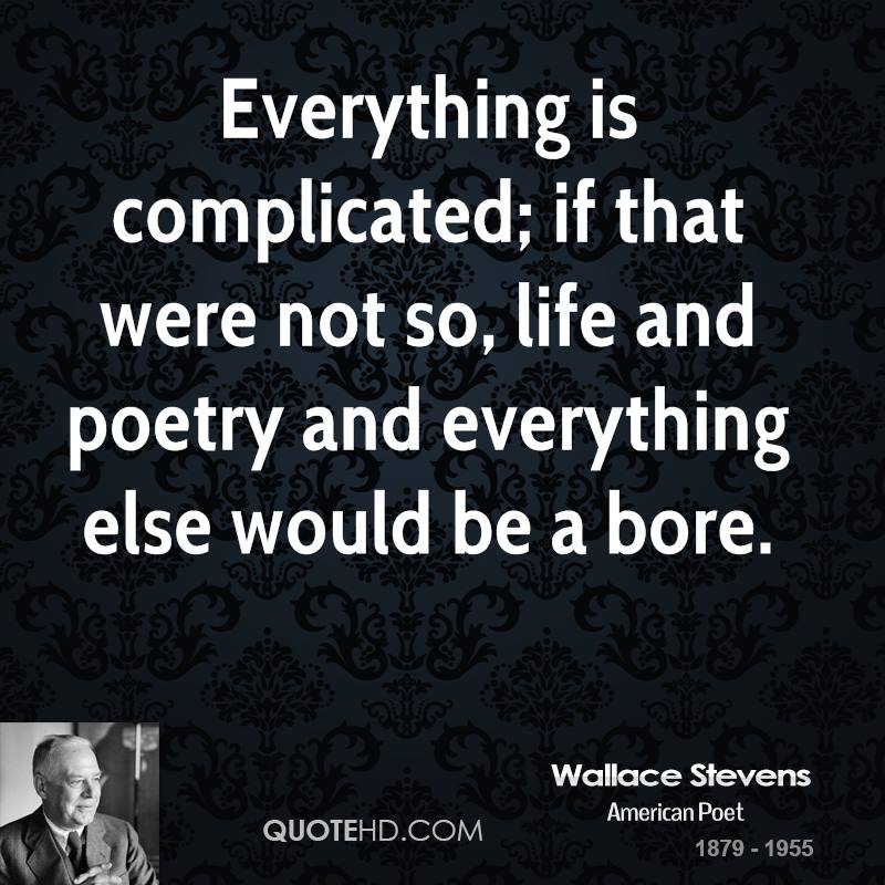 Wallace Stevens Poetry Quotes