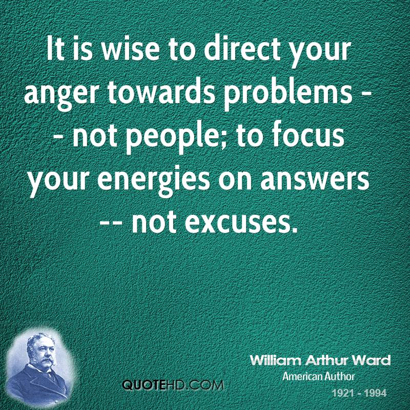 Anger Issues Quotes: William Arthur Ward Quotes