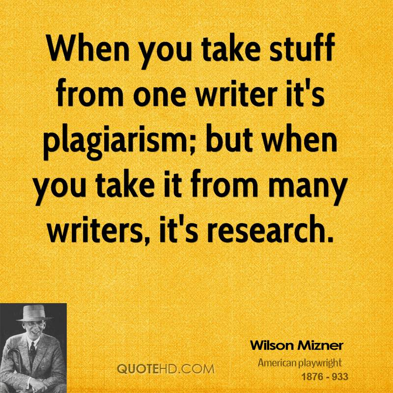 how to quote without plagiarizing