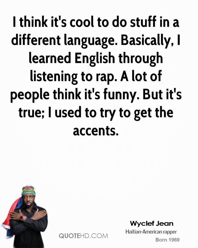 Wyclef Jean Quotes Quotehd