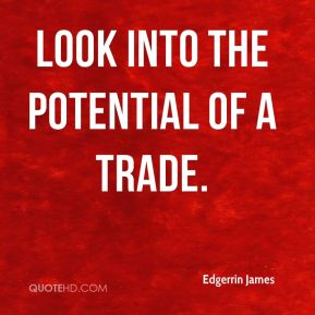 Edgerrin James - look into the potential of a trade.
