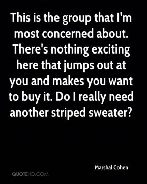 This is the group that I'm most concerned about. There's nothing exciting here that jumps out at you and makes you want to buy it. Do I really need another striped sweater?