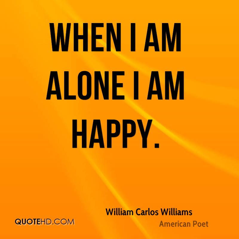 i am happy alone quotes