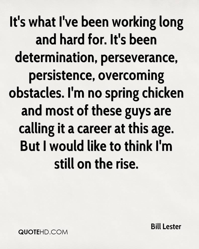 Overcoming Obstacles Quotes Bill Lester Quotes  Quotehd