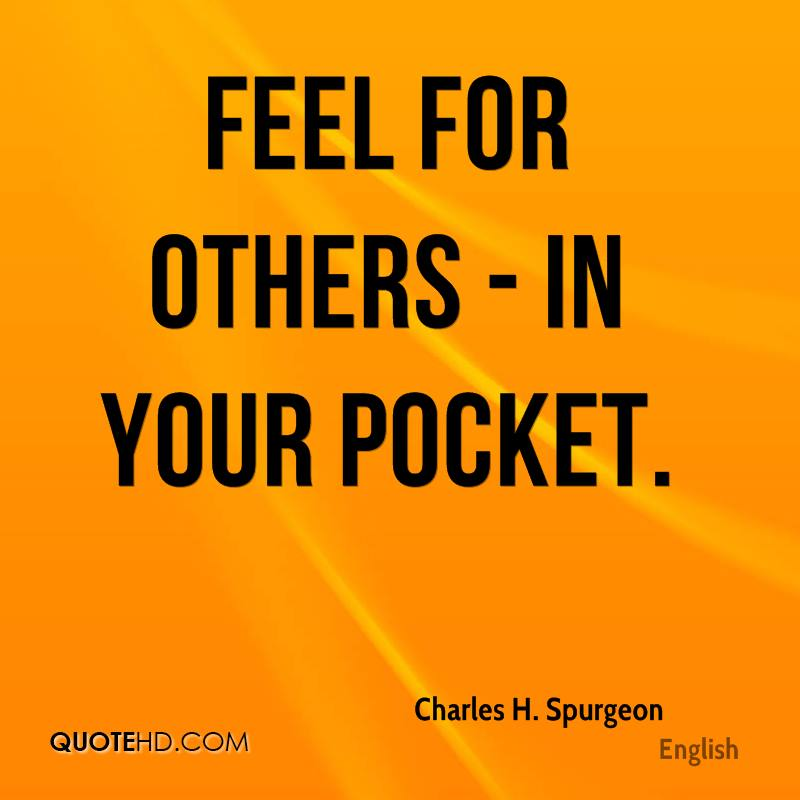 Feel for others - in your pocket.