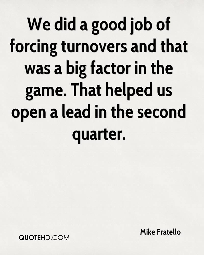 Good Job Quotes Entrancing Mike Fratello Quotes  Quotehd
