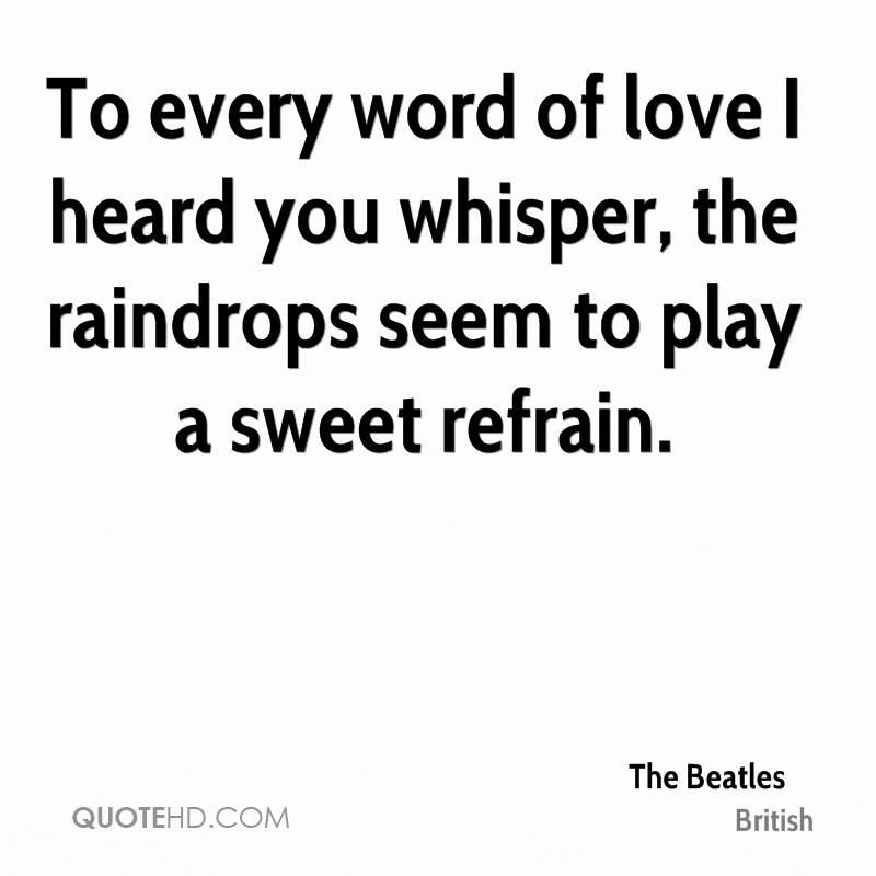 Beatles Quotes Love Fair The Beatles Quotes  Quotehd