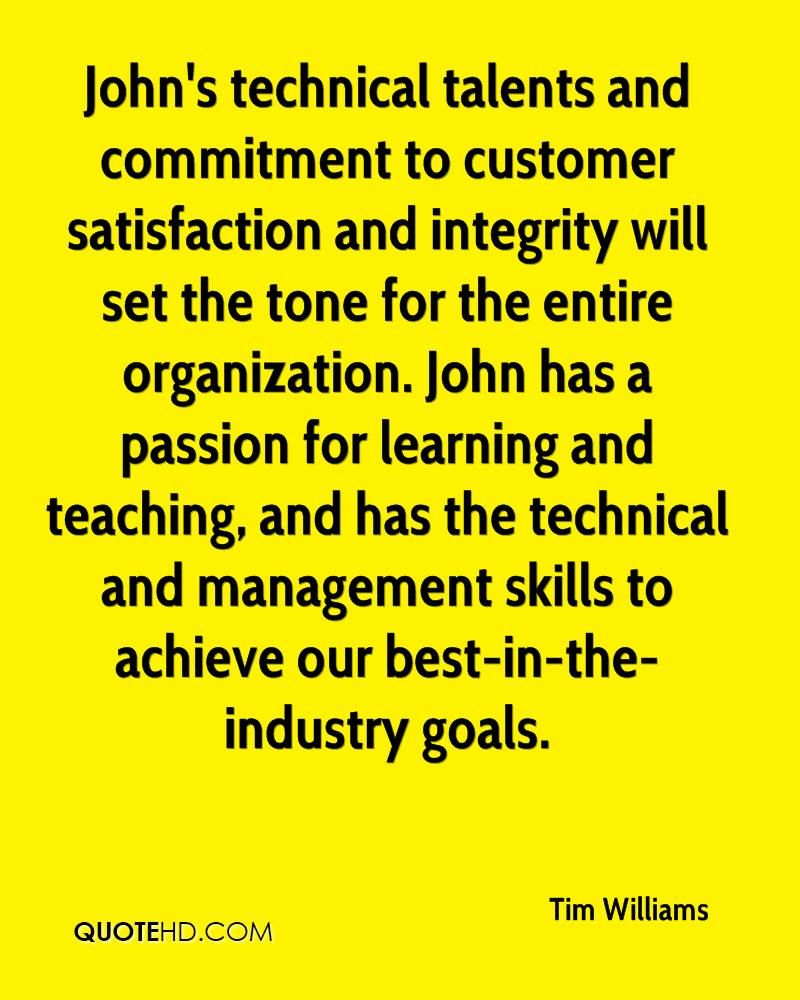 commitment to customer satisfaction