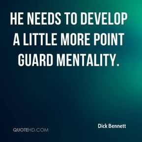 He needs to develop a little more point guard mentality.