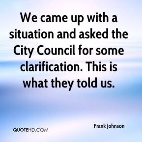 We came up with a situation and asked the City Council for some clarification. This is what they told us.