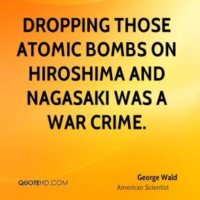 a report on the dropping of the atomic bomb on hiroshima and nagasaki U s strategic bombing survey: the effects of the atomic bombings of hiroshima and nagasaki bomb achieved these effeetg, thie report the extent nature.