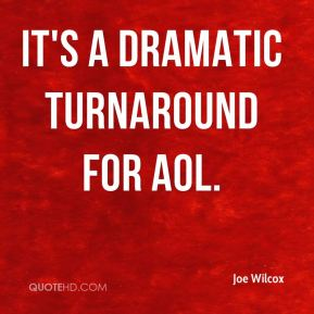 It's a dramatic turnaround for AOL.