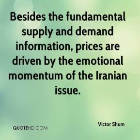 Besides the fundamental supply and demand information, prices are driven by the emotional momentum of the Iranian issue.