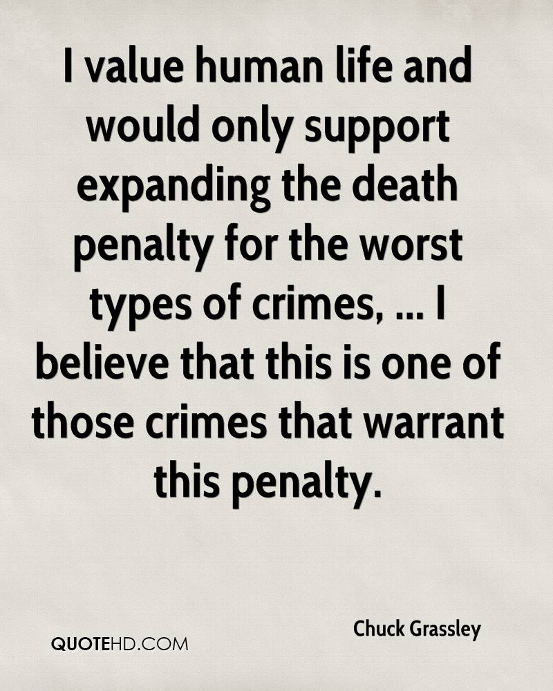 Quotes About The Death Penalty Chuck Grassley Death Quotes  Quotehd