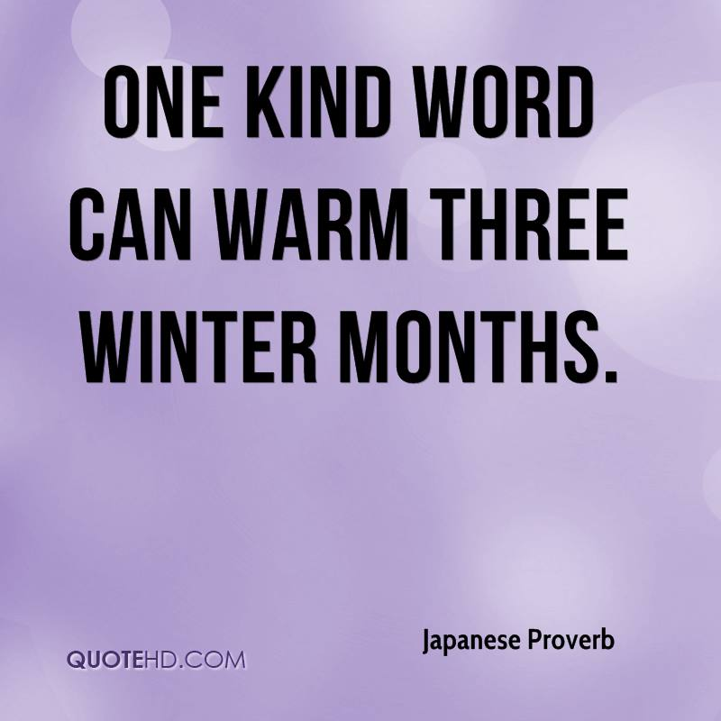 warm quotes for winter