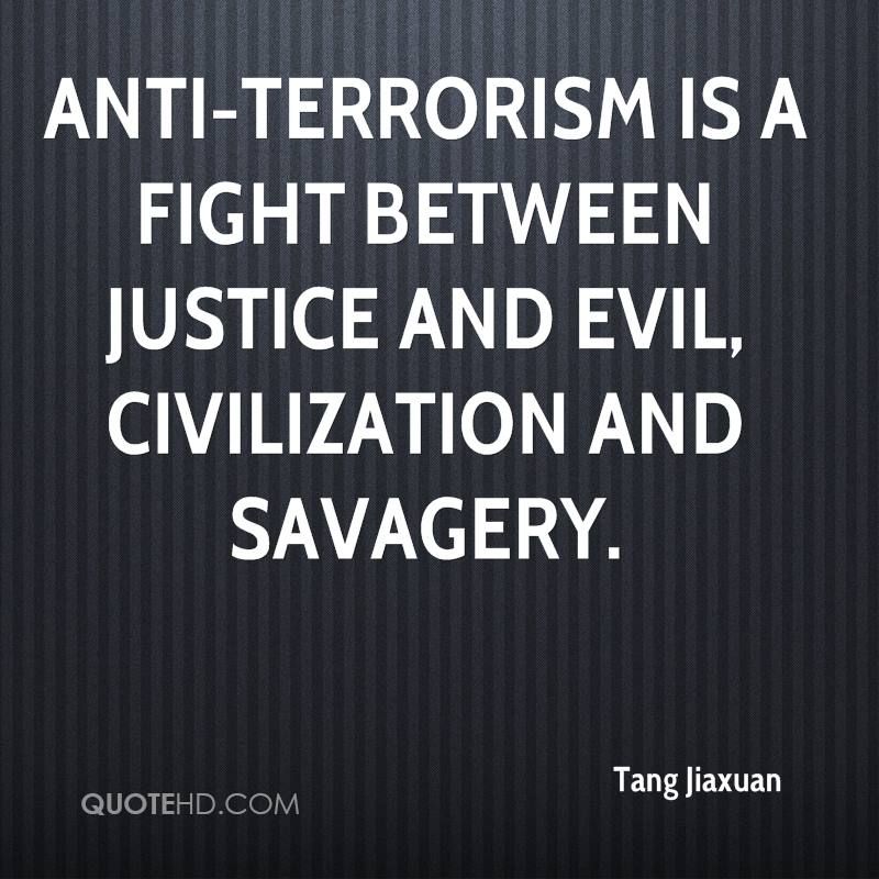 an essay on terrorism against terrorism Essays - largest database of quality sample essays and research papers on terrorism essay studymode - premium and  3- essay on war against terrorism.
