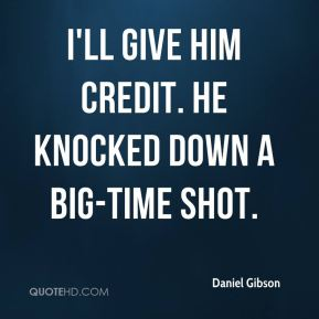 Daniel Gibson - I'll give him credit. He knocked down a big-time shot.