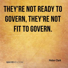 They're not ready to govern, they're not fit to govern.