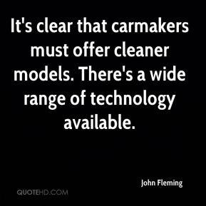 It's clear that carmakers must offer cleaner models. There's a wide range of technology available.