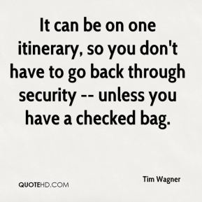 It can be on one itinerary, so you don't have to go back through security -- unless you have a checked bag.