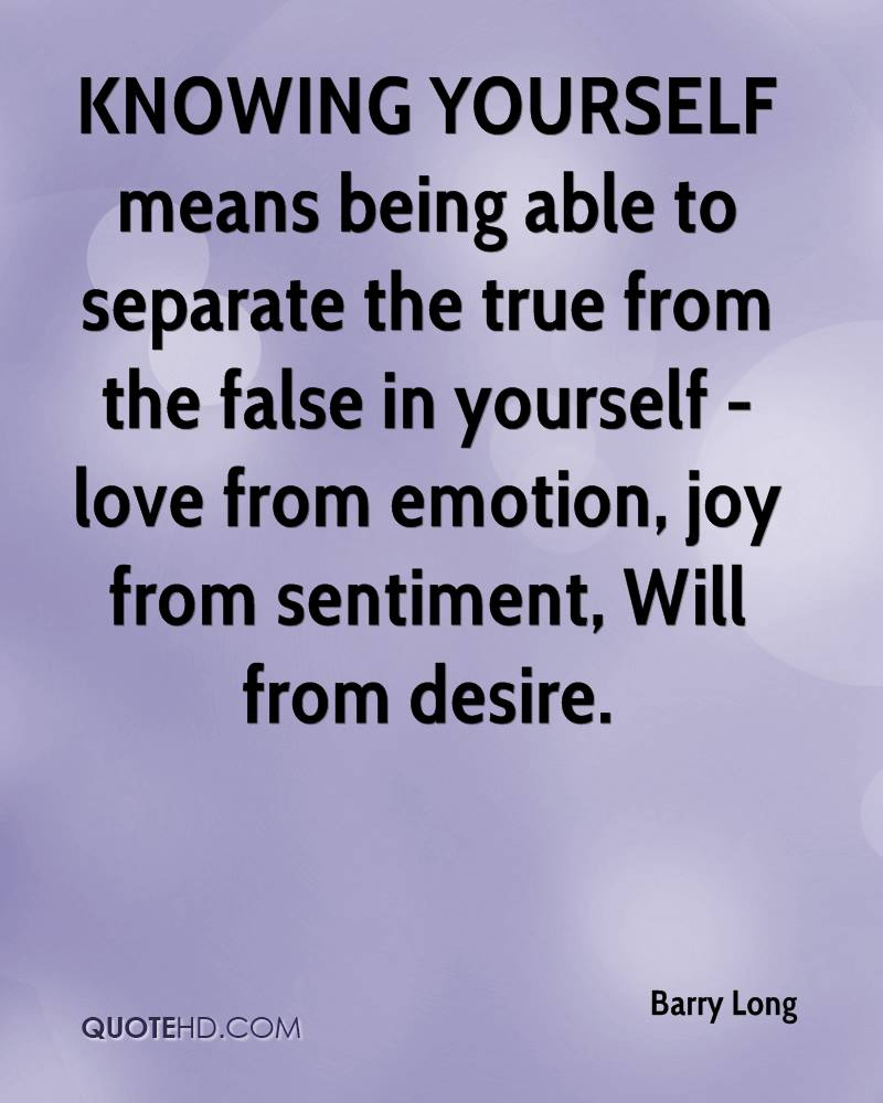 What Is -- Being True to Yourself? 4 Quotes to Find Out