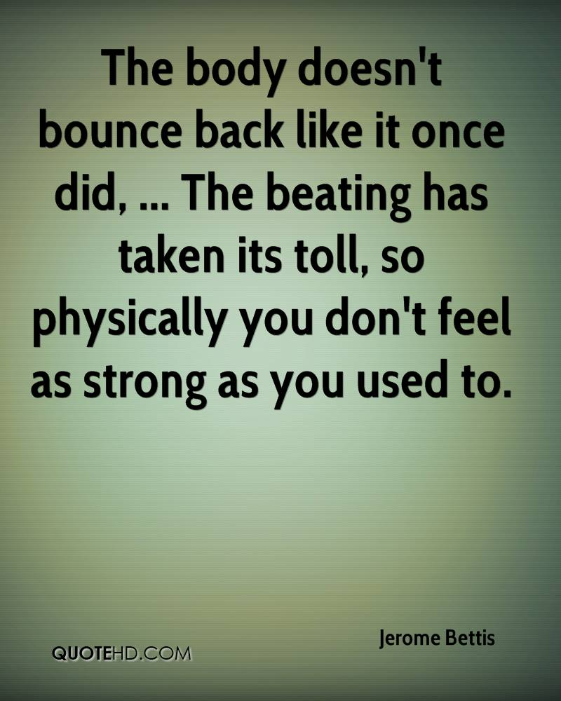 Bounce Back Quotes Jerome Bettis Quotes  Quotehd