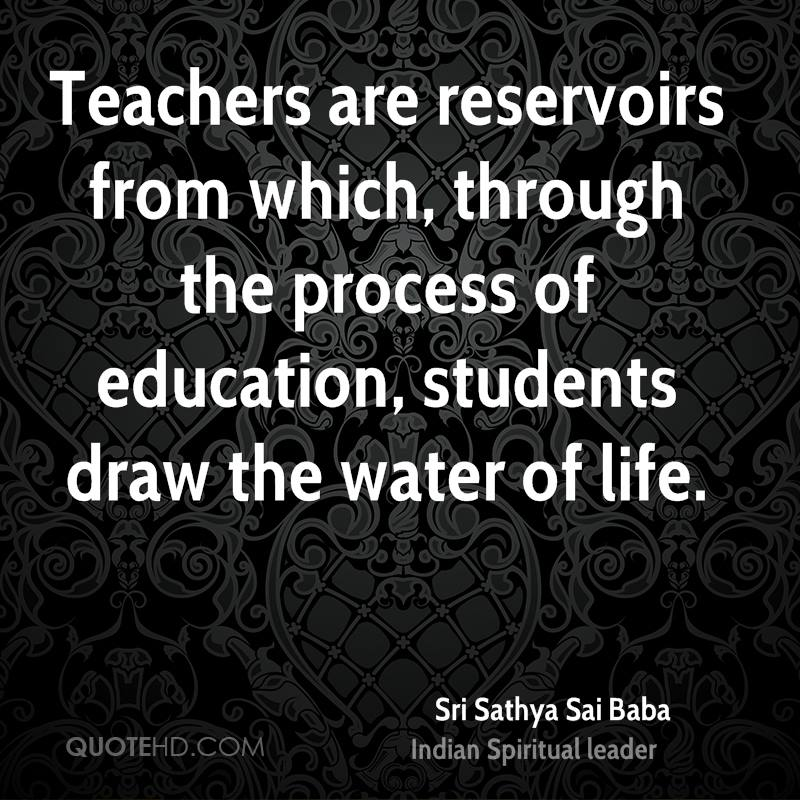 Sri Sathya Sai Baba Quotes QuoteHD Amazing Education Quotes For Teachers