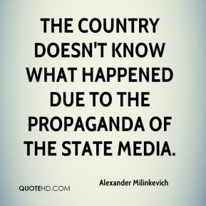 Alexander Milinkevich - The country doesn't know what happened due to the propaganda of the state media.