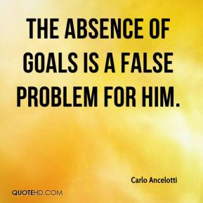 The absence of goals is a false problem for him.