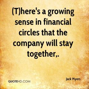 (T)here's a growing sense in financial circles that the company will stay together.