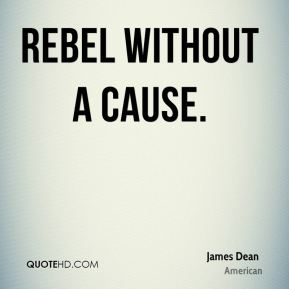 James Dean - Rebel Without a Cause.