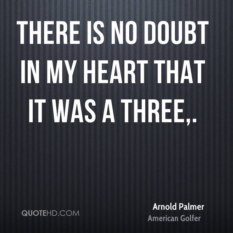 There is no doubt in my heart that it was a three.