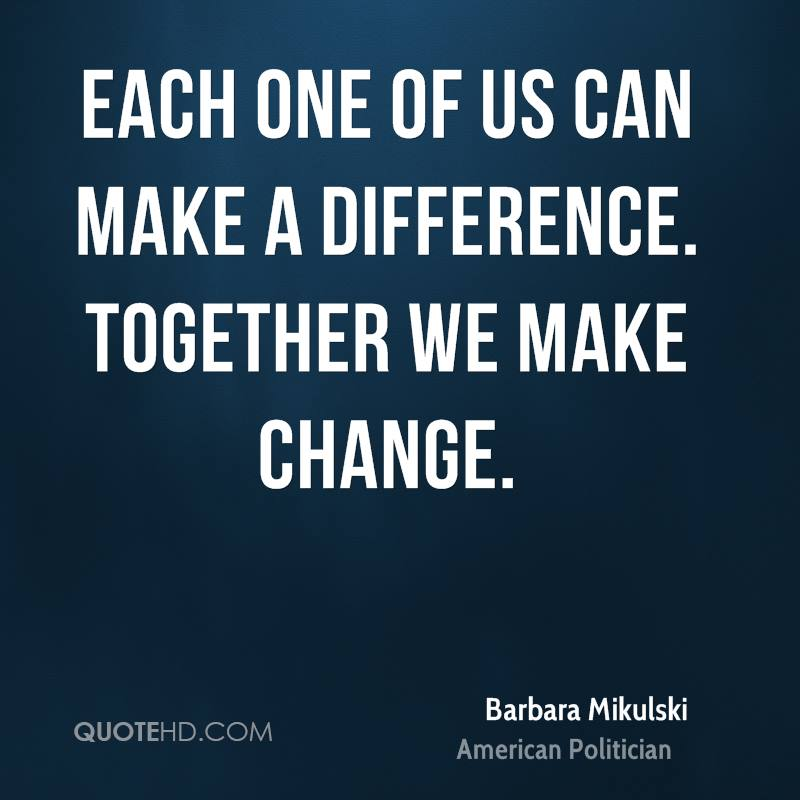 i can make a difference I can make a difference 45k likes a group of social-change makers who bring simple, cost efficient, environment-friendly, and synergistic solutions.