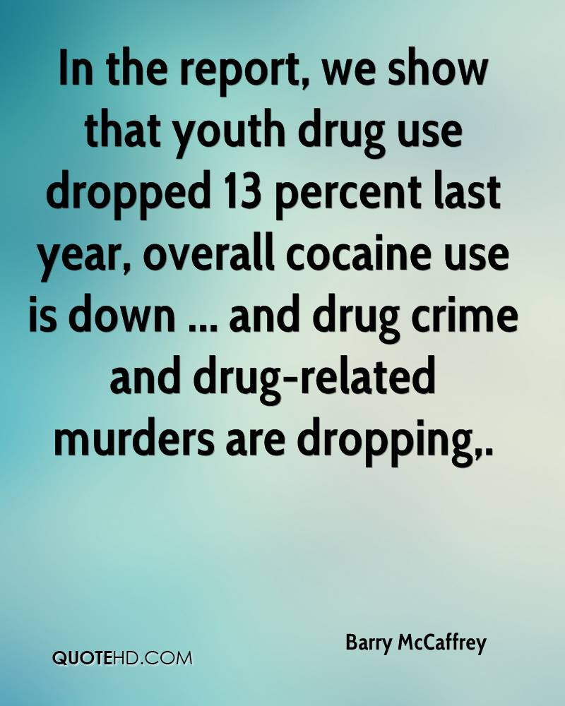 youth drug use and crime relationship