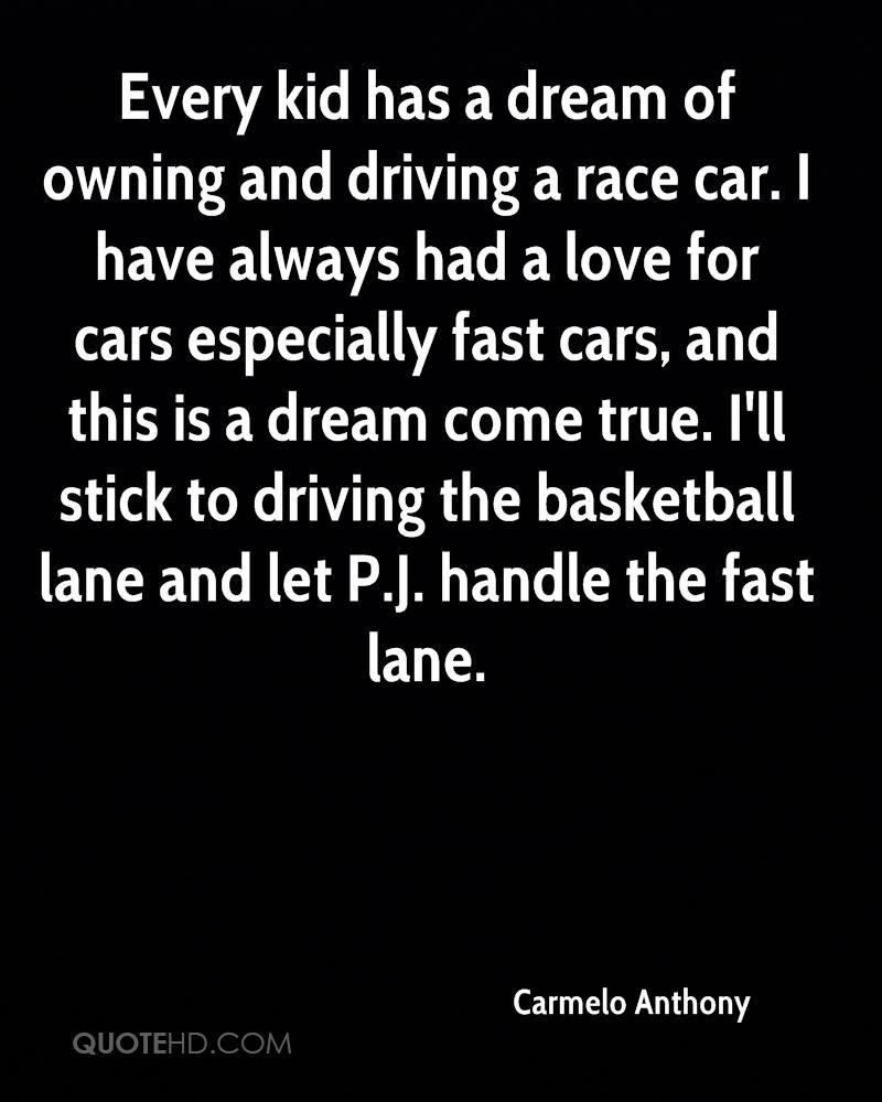 Race Car Quotes Carmelo Anthony Quotes  Quotehd