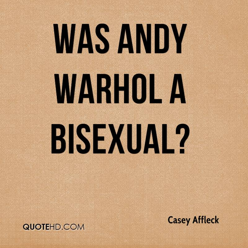 Was Andy Warhol a bisexual?