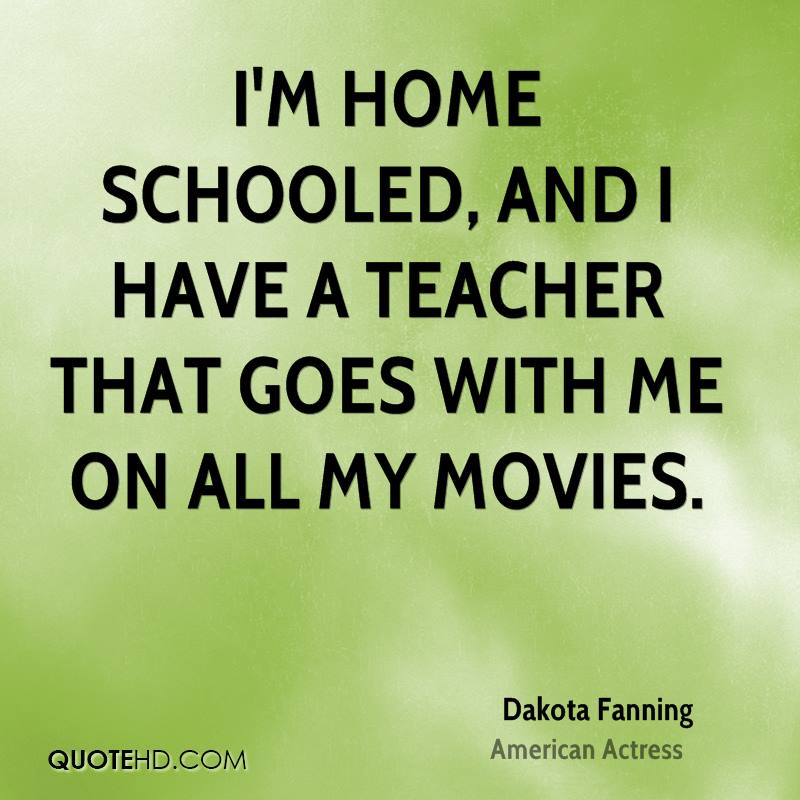 I'm home schooled, and I have a teacher that goes with me on all my movies.