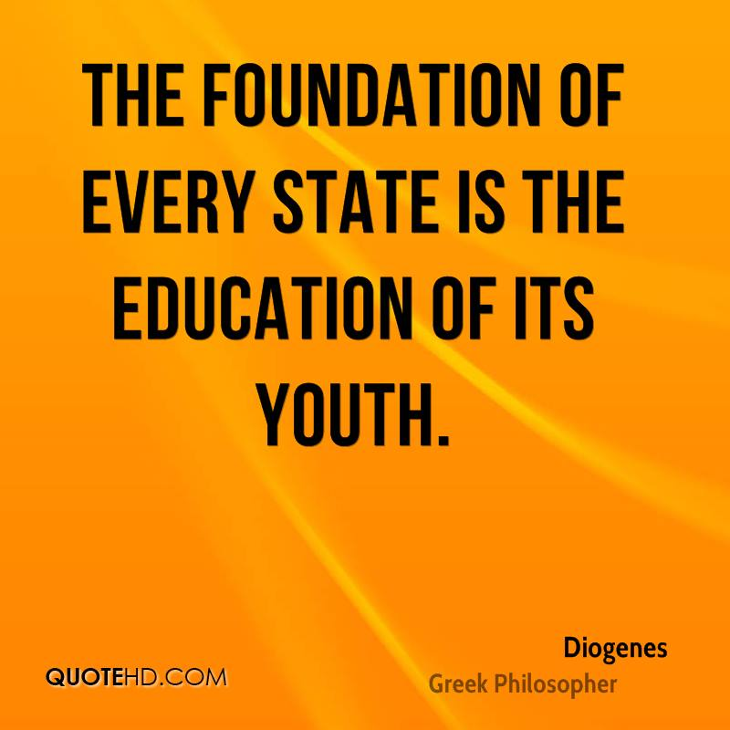 diogenes education quotes quotehd